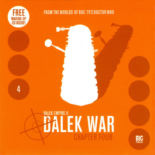 Dalek Empire: Dalek War Chapter 4- Big Finish Audio CD