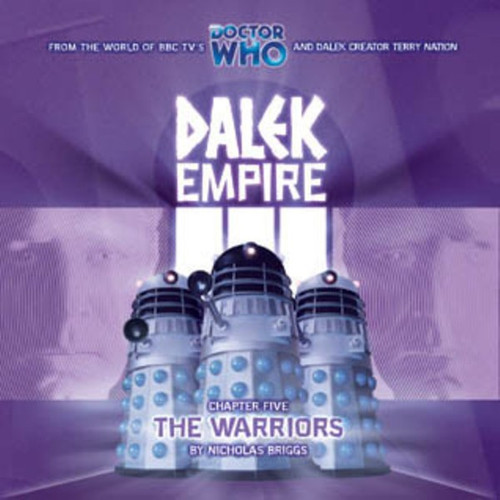 Dalek Empire 3: The Warriors #3.5 -Big Finish Audio CD