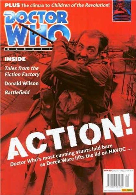 Doctor Who Magazine #317