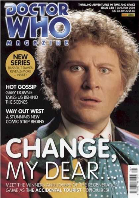 Doctor Who Magazine #338