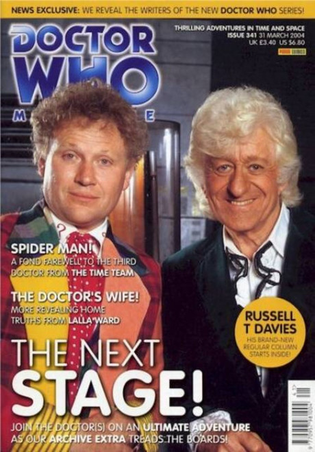 Doctor Who Magazine #341