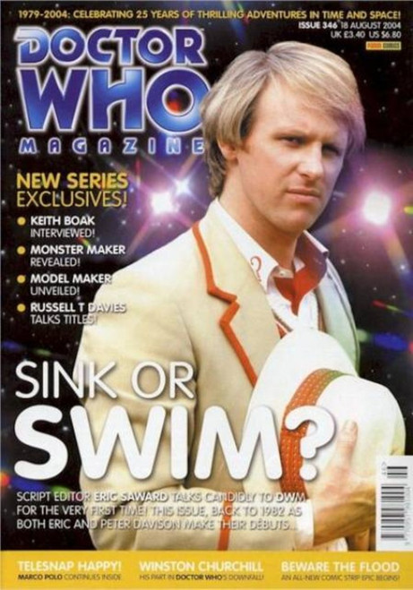 Doctor Who Magazine #346