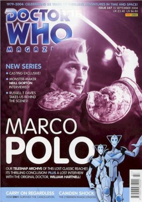 Doctor Who Magazine #347