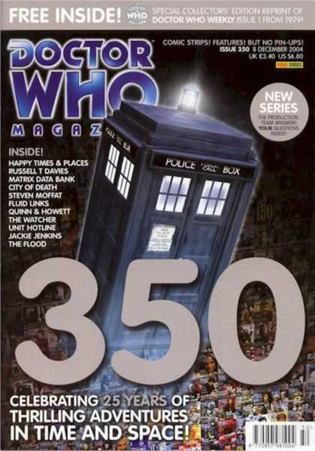 Doctor Who Magazine #350 - Includes Collector's Edition Reprint of Doctor Who Weekly Issue #1