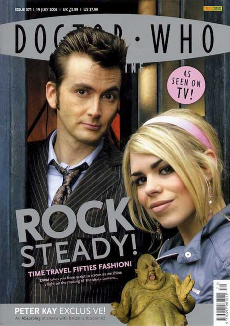 Doctor Who Magazine #371