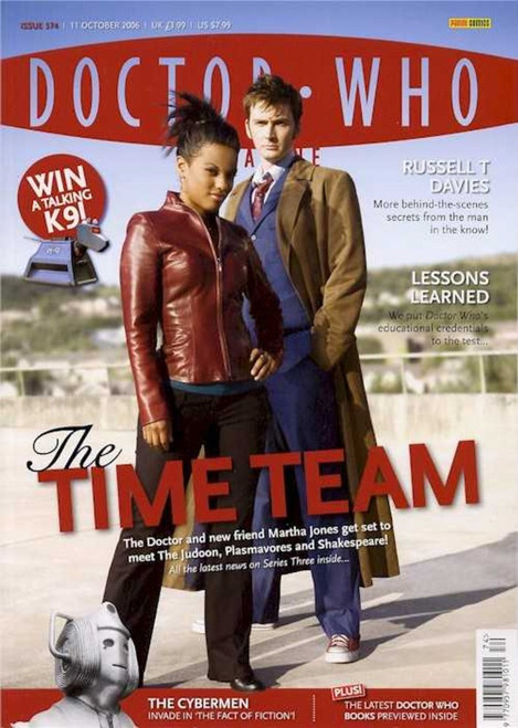 Doctor Who Magazine #374