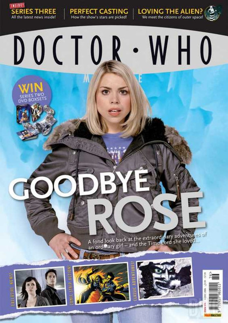 Doctor Who Magazine #376