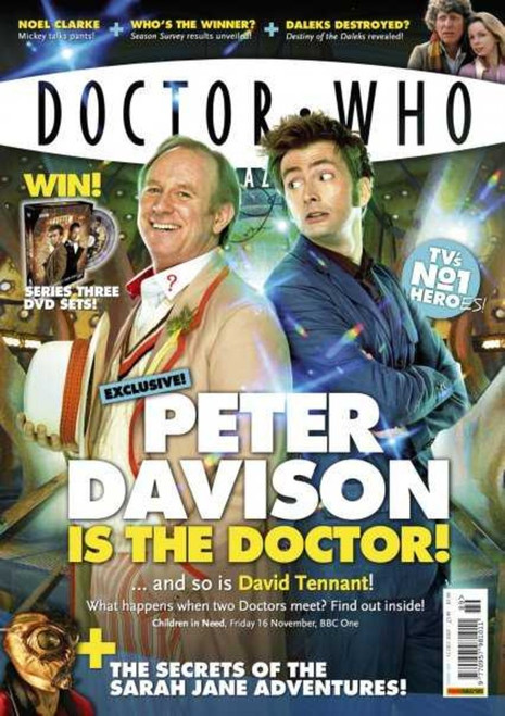 Doctor Who Magazine #389