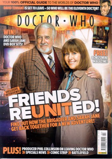 Doctor Who Magazine #402 - Plus FREE 16 page bonus magazine