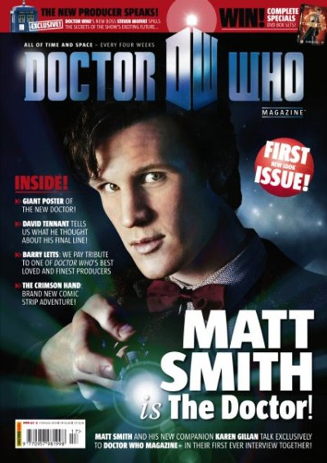 Doctor Who Magazine #417 - Matt Smith Era Begins