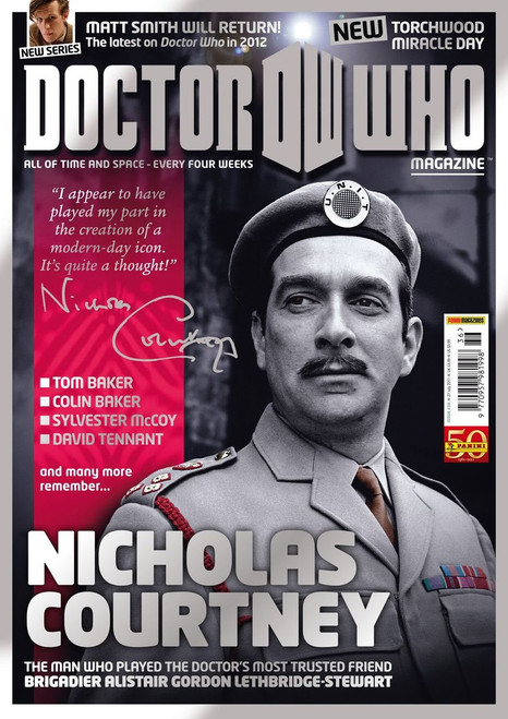 Doctor Who Magazine #436 - Nicholas Courtney Tribute Issue