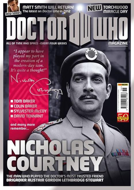 Doctor Who Magazine #436 - Nicholas Courtney Tribute Issue