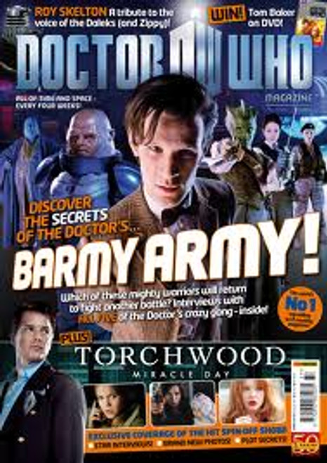 Doctor Who Magazine #437 - Torchwood Miracle Day feature