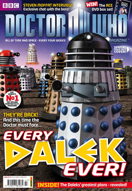Doctor Who Magazine #447 - Every DALEK Ever Fold-Out Cover
