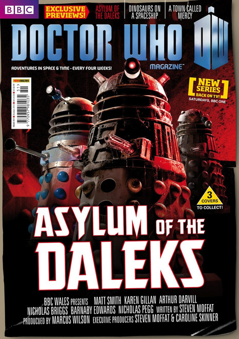Cover 1 Asylum of the Daleks