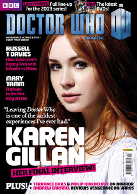 Doctor Who Magazine #453 - The Ultimate Karen Gillan Interview