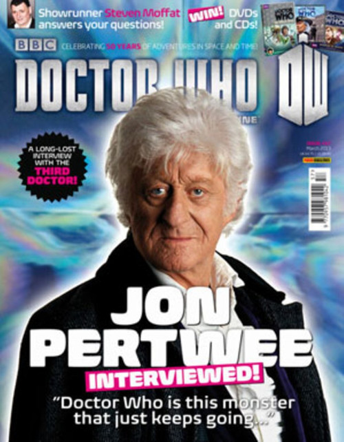 Doctor Who Magazine #457 - Lost Jon Pertwee Interview