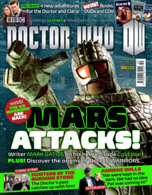 Doctor Who Magazine #459 - The Ice Warriors Return