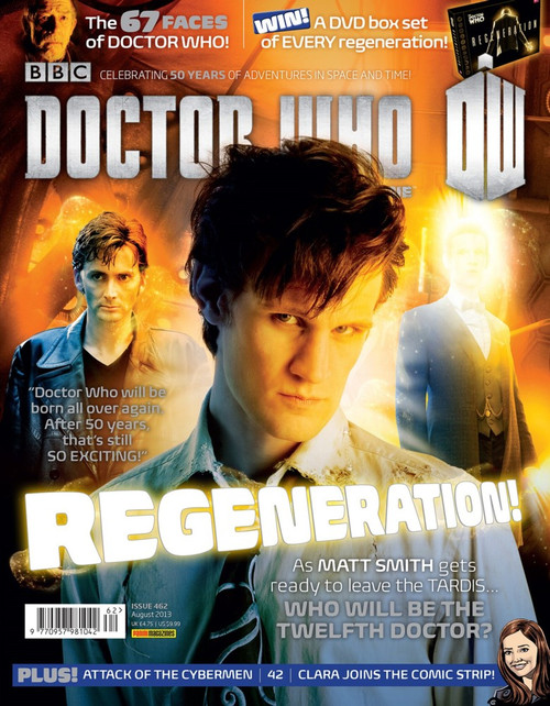 Doctor Who Magazine #462 - Regeneration