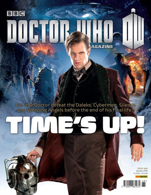 Doctor Who Magazine #468 (Time of the Doctor - Plus Poster) January 2014