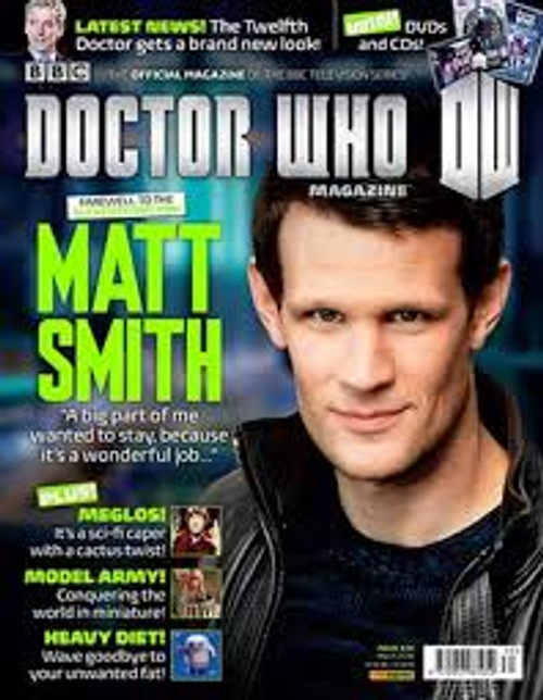 Doctor Who Magazine #470 (Matt Smith Farewell) March 2014