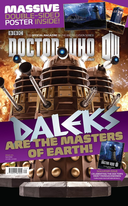 Doctor Who Magazine #471 (DALEKS Souvenir Issue and Poster)