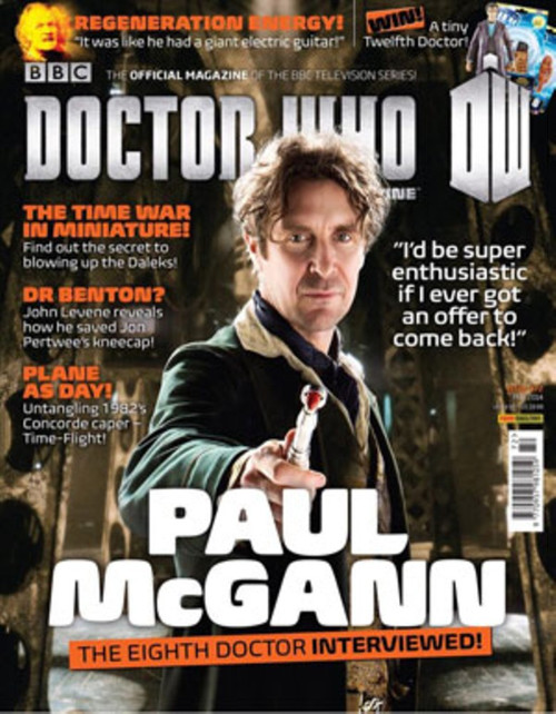 Doctor Who Magazine #472 (Paul McGann Interview and Cover)