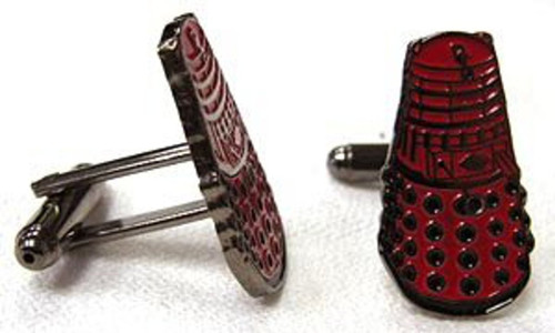 Red Dalek Cufflinks