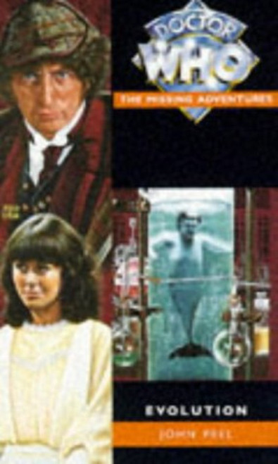 Missing Adventures EVOLUTION Paperback Book by John Peel