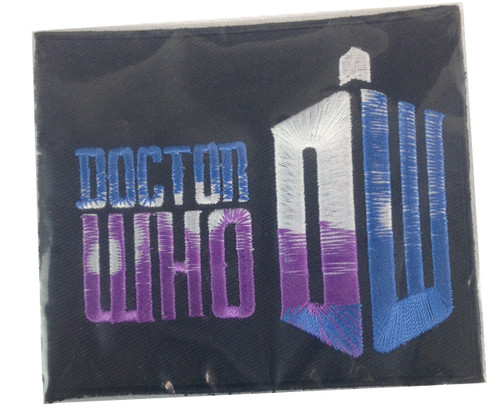 Doctor Who Logo Patch