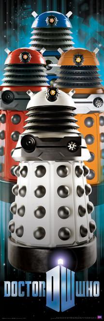 """Daleks Door Poster 11.75"""" X 36"""""""