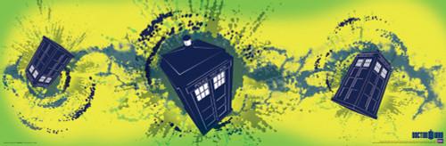 """The TARDIS Poster 36"""" x 11.75"""