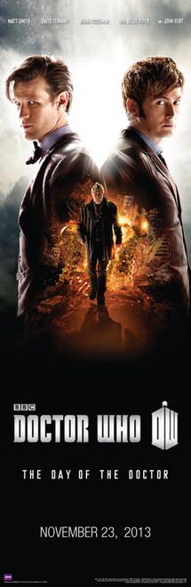 """Day of the Doctor Door Poster 11.75"""" X 36"""""""