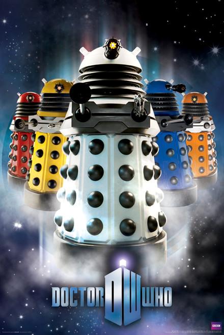 "Daleks Poster 24"" X 36"""