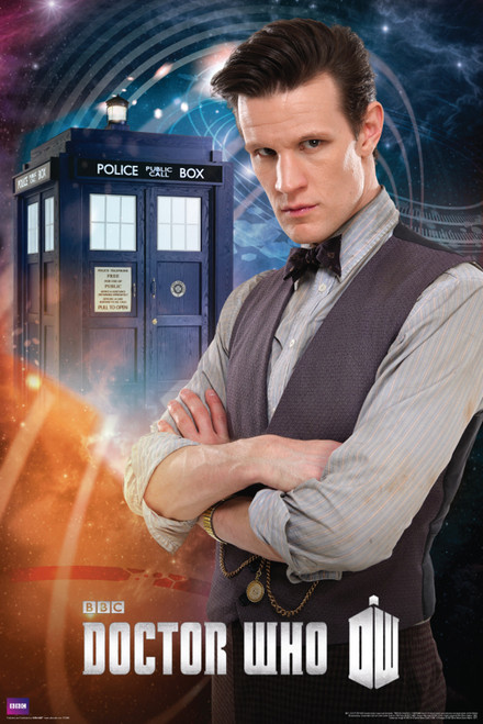"""11th Doctor Poster 24"""" X 36"""""""