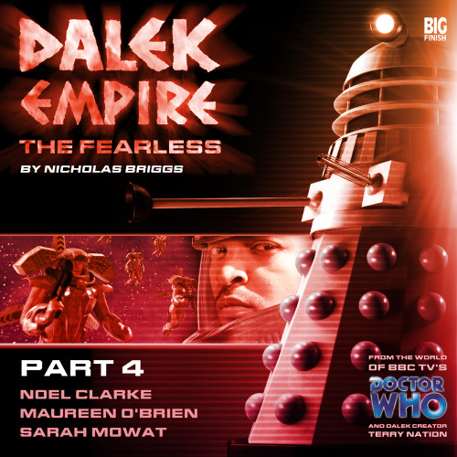 Dalek Empire: Fearless Part 4- Big Finish Audio CD