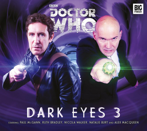 Doctor Who DARK EYES Eighth Doctor (Paul McGann) Audio Drama Boxed Set #3 from Big Finish