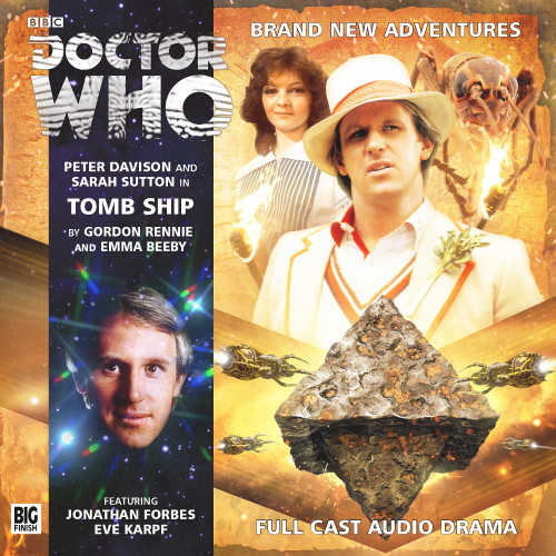 Tomb Ship Audio CD - Big Finish #186