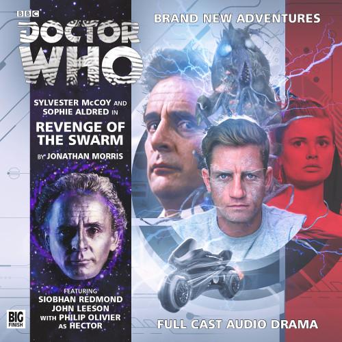 Revenge of the Swarm Audio CD - Big Finish #189