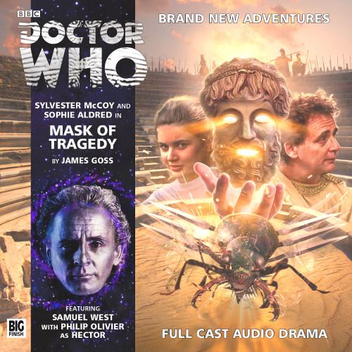 Mask of Tragedy Audio CD - Big Finish #190