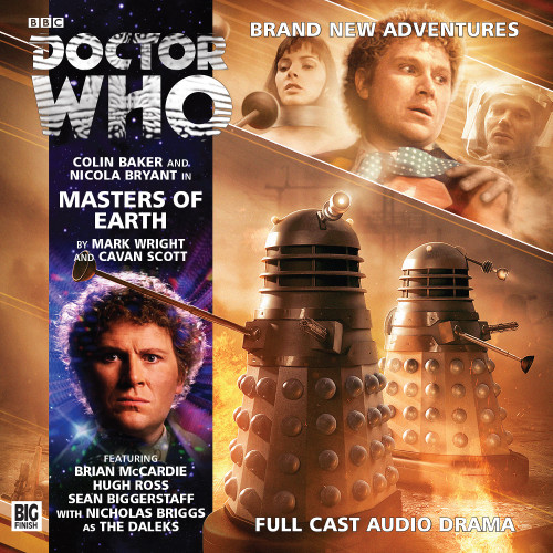 Masters of Earth Audio CD - Big Finish #193