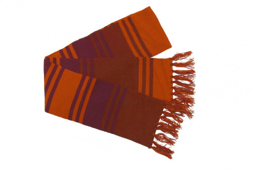 "Fourth Doctor 6"" Purple Scarf"