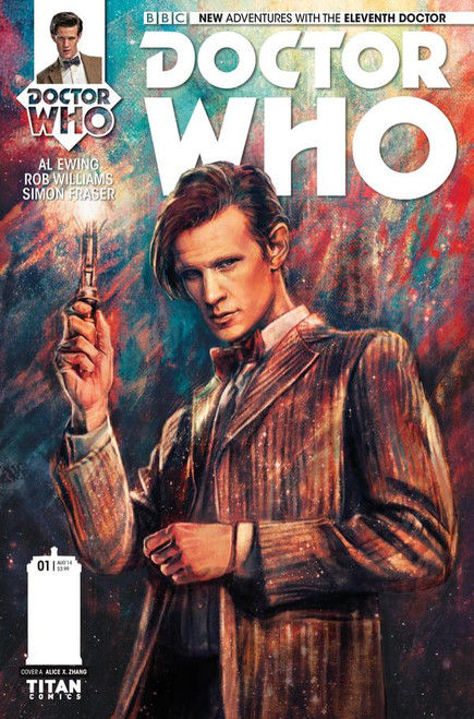 11th Doctor Titan Comics #1