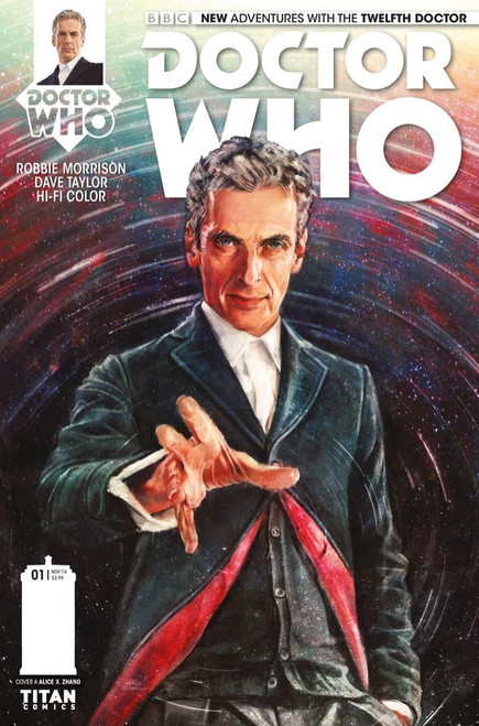 12th Doctor Titan Comics #1