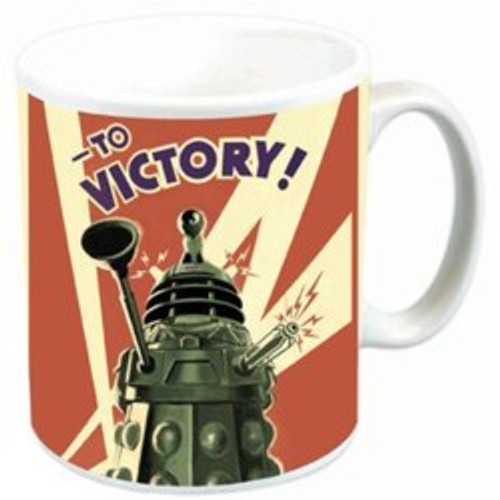 VICTORY of the DALEKS Ceramic Mug