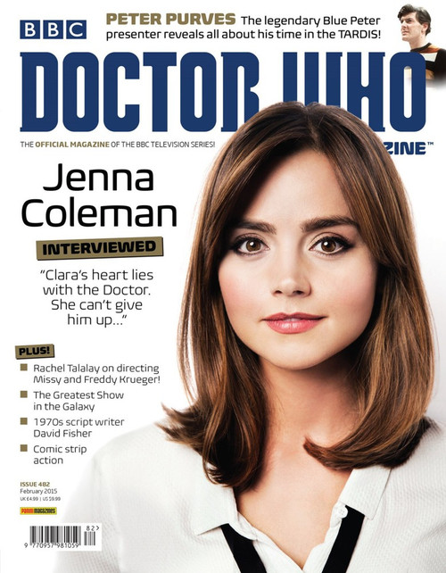 Doctor Who Magazine #482 - Jenna Coleman Interviewed