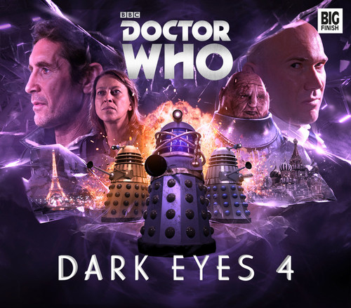 Doctor Who DARK EYES Eighth Doctor (Paul McGann) Audio Drama Boxed Set #4 from Big Finish
