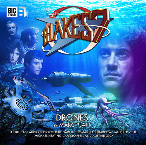 Big Finish Blake's 7: Drones Audio CD #1.3