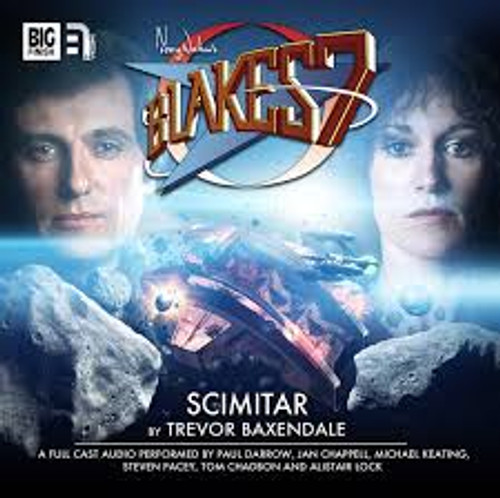 Big Finish Blake's 7: Scimitar Audio CD #2.1
