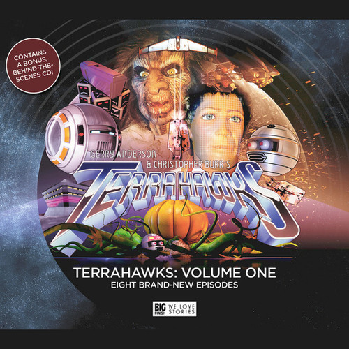 TERRAHAWKS: Volume One - Big Finish Audio Drama (8 New Episodes)